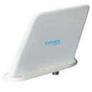 Comant Industries CI-285 Uhf Wide Band Blade Antenna/N Connector, 400-960 Mhz, 50 Ohms, 100 Watts, 6 Hole Mount, Airspeed 600 Knots