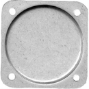 Forbes CP-1AR Cover Plate/2 1/4 Diameter. Aluminum, No Paint.