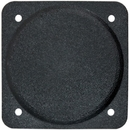 Forbes CP-2FR Cover Plate/3 1/8 Diameter. Black Plastic. Flame Retardant.