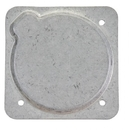 Forbes CP-6AR Cover Plate/Aluminum, No Paint. For Use With Altimeter Or Vsi