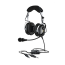 Faro G2-A-BLACK G2 Headset/Black, Active Noise Reduction (Anr), Noise Canceling Electret Mic, Leather Ear Protection