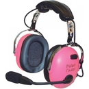 Pilot Communications PA-1151ACG Pilot Usa Headset/Child(Girl)/Mono/Stereo/Flex Boom/Audio In/Pink Ear Cups