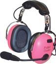 EDMO PA-1151ACG Pilot Usa Headset/Child(Girl)/Mono/Stereo/Flex Boom/Audio In/Pink Ear Cups