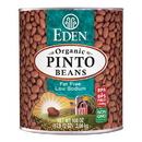 Eden Foods 102956 Pinto Beans, Organic, 108 oz