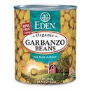 Eden Foods 102959 Garbanzo Beans (Chick Peas), Organic, 29 oz