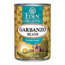 Eden Foods 102960 Garbanzo Beans (Chick Peas), Organic, 15 oz