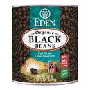 Eden Foods 102978 Black Beans, Organic, 108 oz