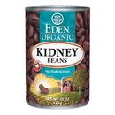 Eden Foods 102990 Kidney (dark red) Beans, Organic, 15 oz
