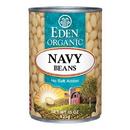 Eden Foods 103000 Navy Beans, Organic, 15 oz