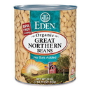 Eden Foods 103006 Great Northern Beans, Organic, 29 oz