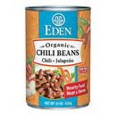 Eden Foods 103070 Chili Beans with Jalapeno & Chili Peppers,  Organic, 15 oz