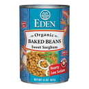 Eden Foods 103080 Baked Beans with Sorghum & Mustard, Organic, 15 oz