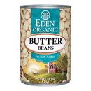 Eden Foods 103130 Butter Beans (Baby Lima), Organic, 15 oz