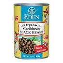 Eden Foods 103145 Caribbean Black Beans, Organic, 15 oz
