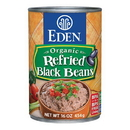 Eden Foods 103160 Refried Black Beans, Organic, 16 oz