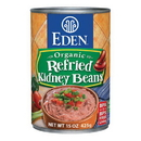 Eden Foods 103170 Refried Kidney Beans, Organic, 15 oz