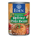 Eden Foods 103190 Spicy Refried Pinto Beans, Organic, 16 oz