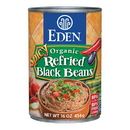 Eden Foods 103200 Spicy Refried Black Beans, Organic, 16 oz