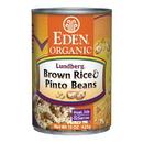 Eden Foods 103205 Brown Rice & Pinto Beans, Organic, 15 oz