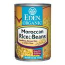 Eden Foods 103213 Moroccan Rice & Garbanzo Beans, Organic, 15 oz