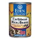Eden Foods 103215 Caribbean Rice & Black Beans, Organic, 15 oz