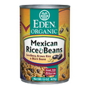Eden Foods 103218 Mexican Rice & Black Beans, Organic, 15 oz