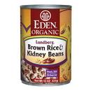 Eden Foods 103220 Brown Rice & Kidney Beans, Organic, 15 oz