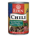Eden Foods 103234 Black Bean & Quinoa Chili, 14.5 oz