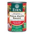 Eden Foods 103920 Pizza Pasta Sauce, Organic, 15 oz