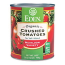 Eden Foods 104080 Crushed Tomatoes, Organic, 28 oz