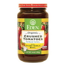 Eden Foods 104850 Crushed Tomatoes with Onion, Garlic & Basil, Organic, 14 oz