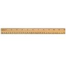 Acme United ACM10377 School Ruler Wood 12 In Single