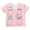Aeromax AEATDDP My 1St Career Gear Pink Doctor Top