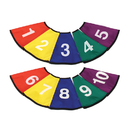 American Educational Prod. AEPYTC276 Numbered Cone Covers Set Of 10