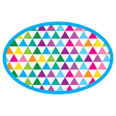 Ashley Productions ASH09994 Color Triangles Magnetic Wb Erasers