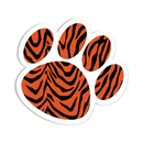 Ashley Productions ASH10000 Magnetic Whiteboard Eraser Tiger - Paw