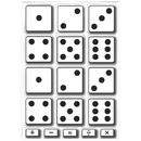 Ashley Productions ASH10061 Math Die Cut Magnets Dice