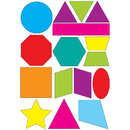 Ashley Productions ASH10065 Math Die Cut Magnets Shapes