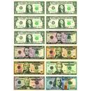Ashley Productions ASH10066 Math Die Cut Magnets U.S. Dollars