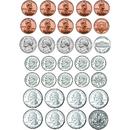 Ashley Productions ASH10067 Math Die Cut Magnets U.S. Coins