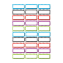 Ashley Productions ASH10077 Die Cut Magnets Assorted Color - Chevron Nameplates