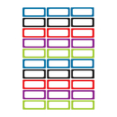 Ashley Productions ASH10078 Die Cut Magnets Assorted Solid - Color Nameplates