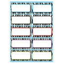 Ashley Productions ASH10116 Die Cut Magnets Zebra Nameplates