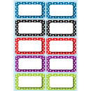 Ashley Productions ASH10118 Die Cut Magnets Polka Dot Nameplates