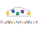 Ashley Productions ASH10176 Magnetic Border Color Paws