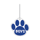 Ashley Productions ASH10361 Blue Paw Hall Pass Boys 4 X 4