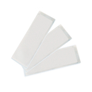 Ashley Productions ASH10401 Xsmall Name Plate 3.25X10.5 25Pk - Clear View Self Adhesive Pockets