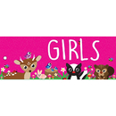 Ashley Productions ASH10650 Girls Pass Woodland Kritters 2 Side