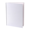 Ashley Productions ASH10700 White Hardcover Blank Book 8-1/8X6-3/8