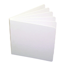 Ashley Productions ASH10705 White Hardcover Blank Book 11X8-1/2
